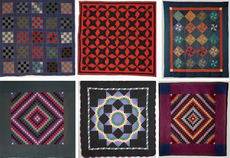 The History Of The American Quilt Amish Quilts Pattern