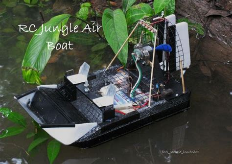 Rc Boats How To Make by How To Make A Rc Air Boat For Videoing And 11 Steps