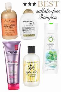 Sulfate, free, shampoo, list - top 10 Brands to Try 2017