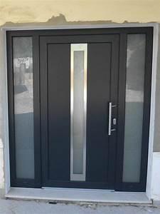 portes d39entree pvc haut de gamme mestre raposa france With porte d entrée pvc avec porte vitrée pvc