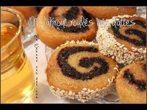 cuisine marocaine makrout aux dattes recette makrout tunisien roules aux dattes gateau aux