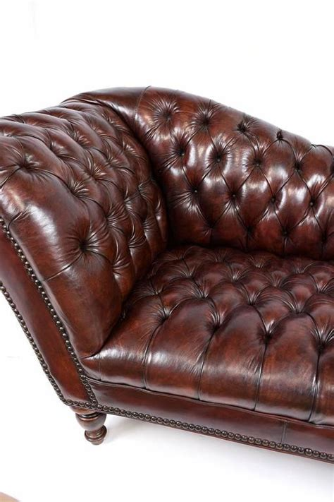 antique tufted leather sofa vintage chesterfield tufted leather sofa at 1stdibs
