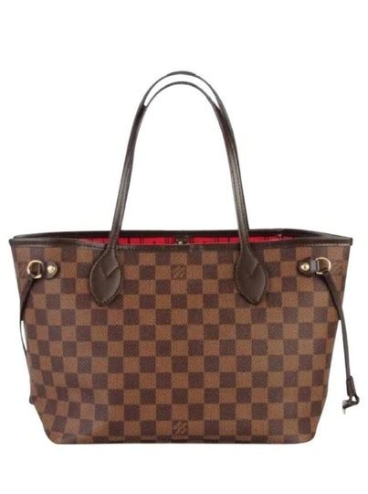 louis vuitton neverfull damier ebene pm monogram canvas