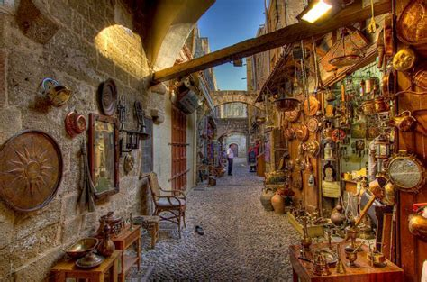 Rhodes Old Town, get lost through the winding streets ...