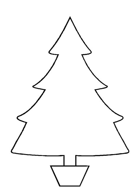 33 christmas tree templates in all shapes and sizes