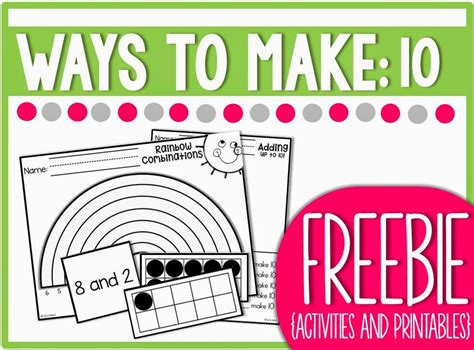 Ways To Make 10 {freebie Packed!}  Freebielicious Bloglovin'