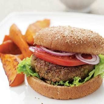 recipe terrific lenten lentil burger