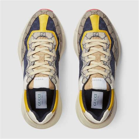 Gucci pays homage to the new york yankees in latest rhyton sneakers: Hype: Gucci's Rhyton Sneaker Aug 03, 2020 / Fashion - TopWitty