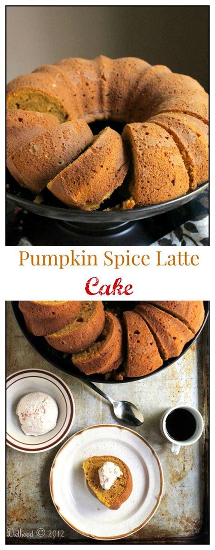 The Form Of Espresso by Pumpkin Spice Latte Bundt Cake With Espresso