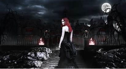 Vampire Gothic Dark Vampires Fantasy Darkness Spooky