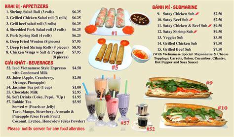 menu at hong an cuisine restaurant calgary