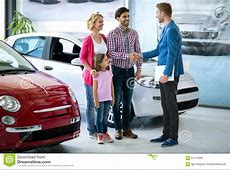 Happy family buy new car stock image Image of daughter