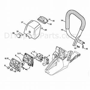 Stihl Ms 381 Chainsaw  Ms381 N  Parts Diagram  Air Filter
