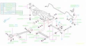 2006 Subaru Impreza Suspension Stabilizer Bar Link Kit