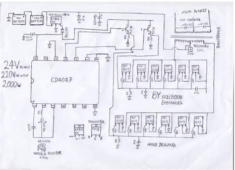 wiring diagram for inverter inverter wiring diagram inverter get free image about
