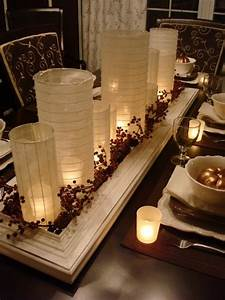 pin by amanda deware on table centerpieces and tablescapes With dining room table candle centerpieces