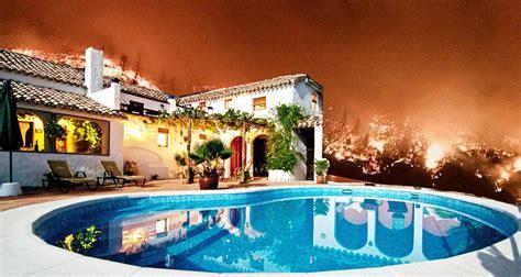 Häuser Mieten Kalifornien waldbr 228 nde in kalifornien feuerwehr sch 252 tzt luxus