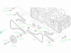 2019 Subaru Forester Engine Timing Chain Tensioner
