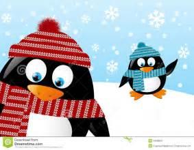 Winter Penguin Clip Art Free