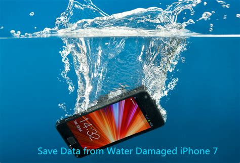 iphone data recovery water damage how to recover lost data from water damaged iphone 7 7 plus