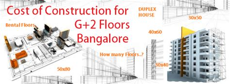 What Is The Cost Of Construction For G+1 G+3 G+4 G+2