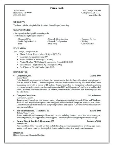 how to make a simple and effective resume form c v hubpages