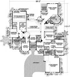 house plans 5 bedrooms florida style house plans 5131 square home 1 5 bedroom and 4 bath 3 garage
