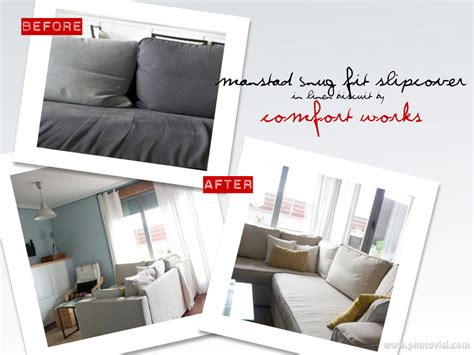 how to fit your manstad snug fit slipcover video comfort