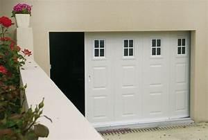 Conform habitat for Ouverture porte garage