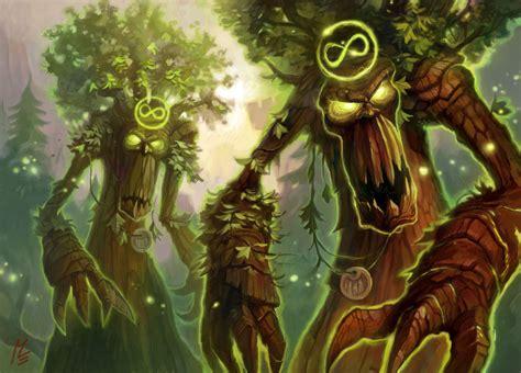 World Of Warcraft Treants By Vaejoun On Deviantart