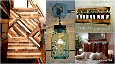 Craft Ideas For Kitchen - 40 of the most extraordinary beautiful and useful rustic diy projects in the world