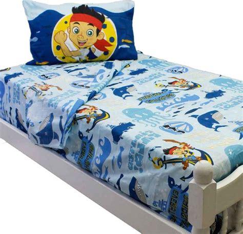 Jake And The Neverland Toddler Bed by Jake Neverland Sheet Set Sailing Waves