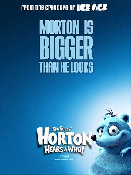 horton hears    poster  trailer addict