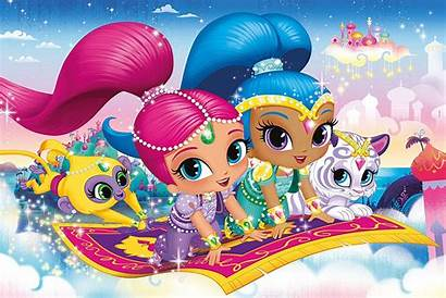 Shimmer Shine Puzzle Floor Clementoni Pieces Jigsaw