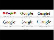 Google Logo History 1998 to 2015 Video Google's New