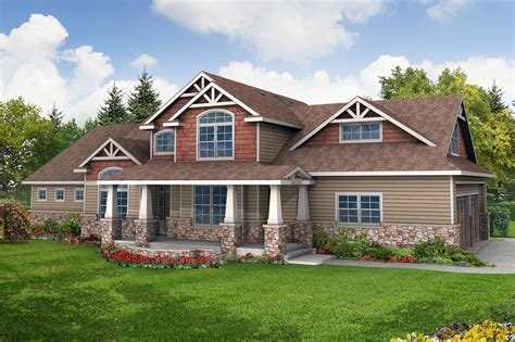 walkout house plans craftsman house plans tillamook 30 519 associated designs