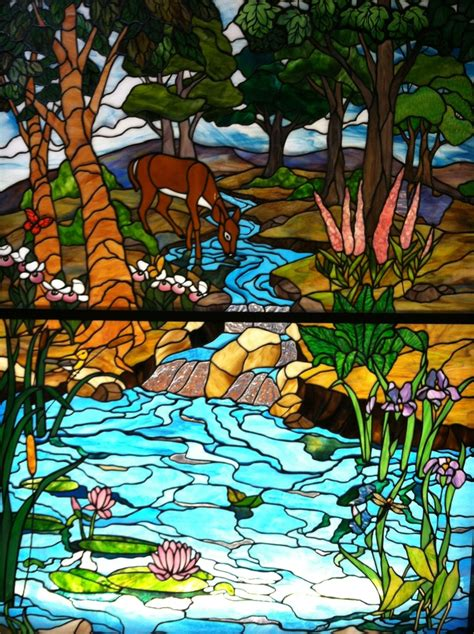 stained glass wildlife images  pinterest