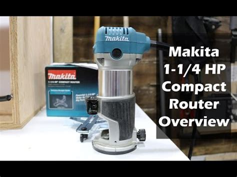 makita compact router overview model rtc youtube