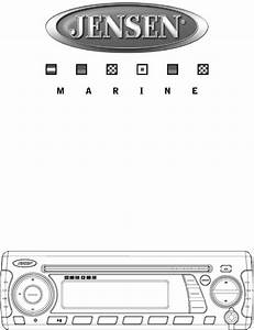 Jensen Marine Radio Msr3007 User Guide