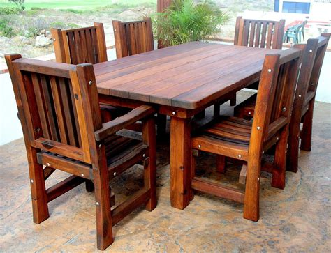 wood outdoor tables   history  wood dowels