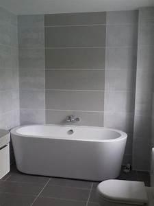30 idees incroyables de salle de bain gris et blanc With salle de bain carrelage gris et blanc