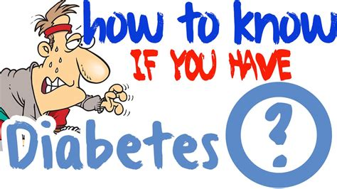 How to Know If You Have Diabetes