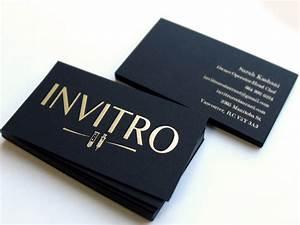 Black business cards for Business cards black