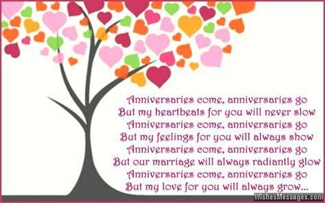 anniversary poems  wife happy st anniversary poems   anniversary wishes