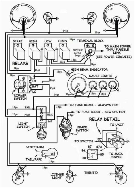 rods simple wiring diagram the h a m b