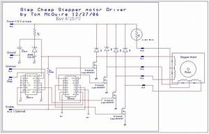 Stepper Motor Wiring Diagram Sample