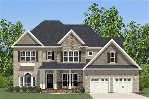 house plan    bdrm  sq ft colonial home theplancollection