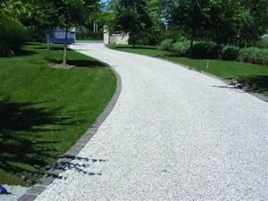 Gravier A Beton : dalle de stabilisation gravier pehd pierre et sol les ~ Premium-room.com Idées de Décoration