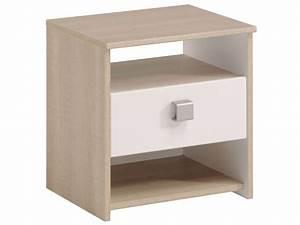 Tables De Chevet Pas Cher : table de chevet pas cher conforama ~ Voncanada.com Idées de Décoration