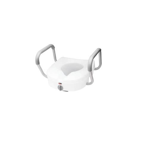 siège toilette surélevé siège de toilette surélevé avec appui bras e z lock carex